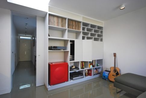 A great mix and match storage design by architect Rashid. Get matched with the right design professional for your home project on www.designforme.com