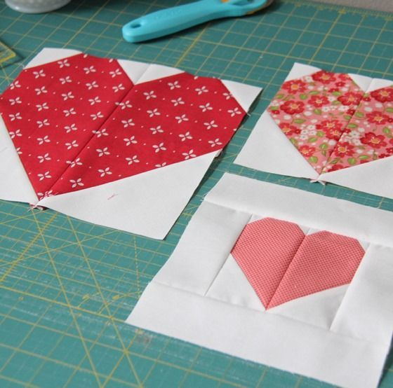 Heart Blocks in Multiple sizes
