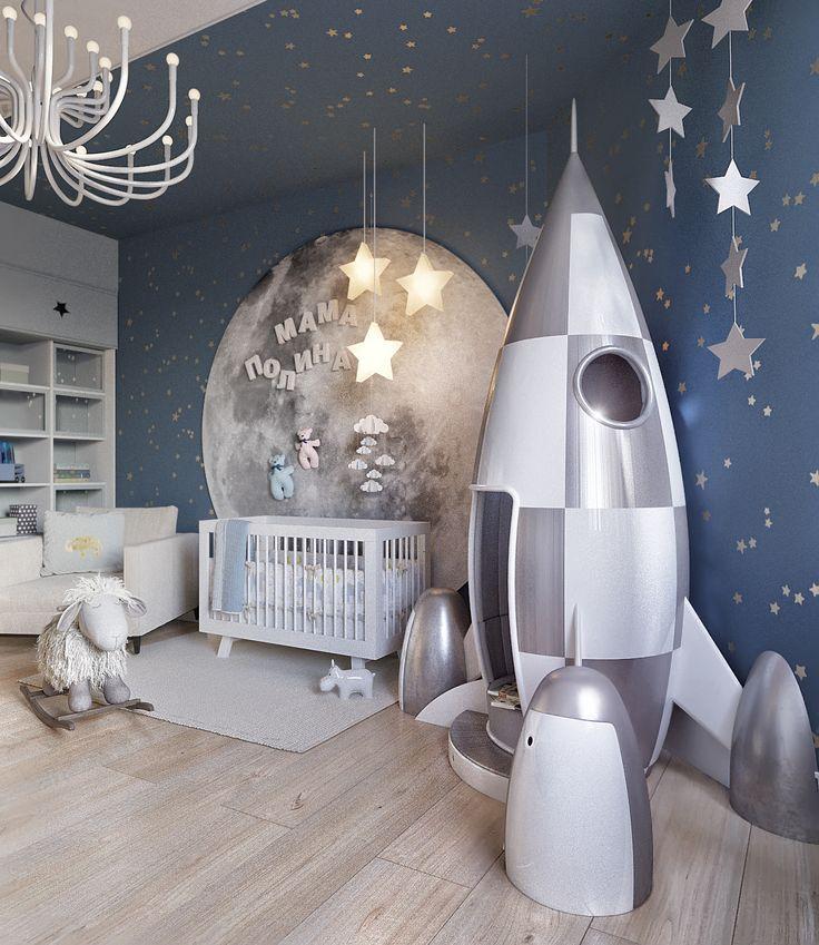 Детская комната|Yudin&Novikov Architect
