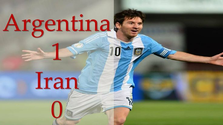 Argentina Vs Iran 1-0 Goals and stat Highlights [World Cup 2014]