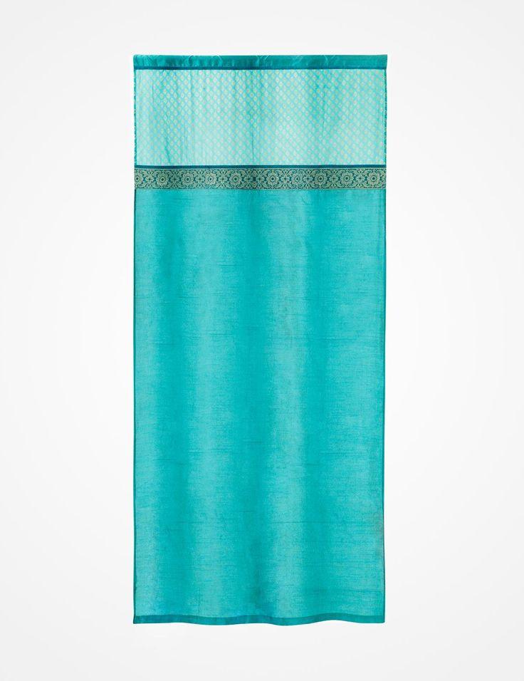 SINDHI gardin turkos | Curtain | Curtain | Gardiner | Inredning | INDISKA Shop Online