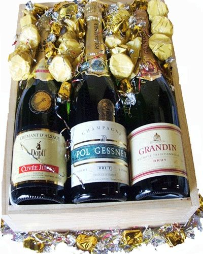 australia Wine - Trio Of France - Wine Hamper