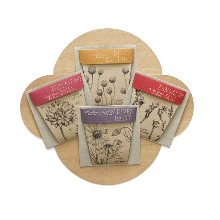 Australian Native set of 4 seed packs