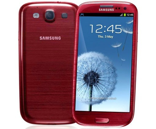 Check out the Samsung Galaxy S3 Garnet Red i747 (S III) from MobiCity - the latest phones, first!