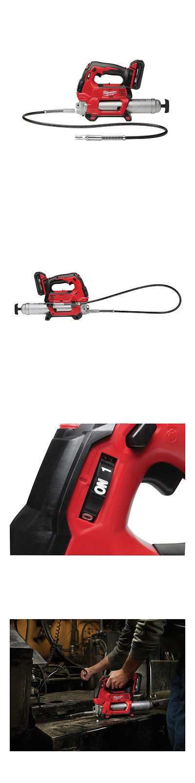 Jig and Scroll Saws 122834: Milwaukee Tools M18 Cordless 2-Speed Grease Gun Kit 2646-21Ct -> BUY IT NOW ONLY: $258.49 on eBay!
