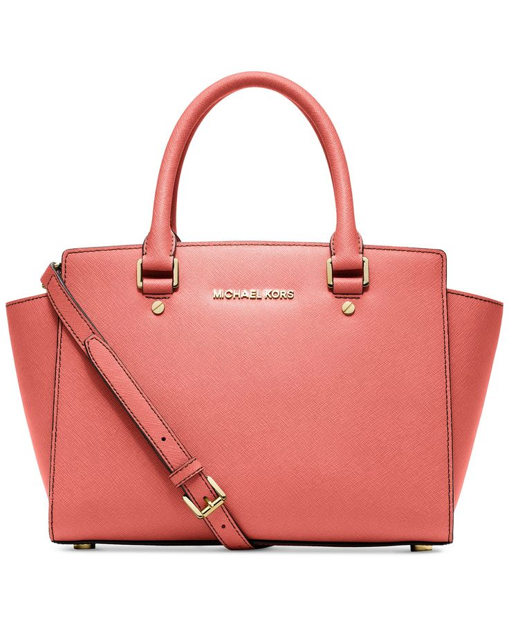 MICHAEL Michael Kors Selma Medium Satchel - MICHAEL Michael Kors - Handbags  \u0026 Accessories - Macy\u0027s