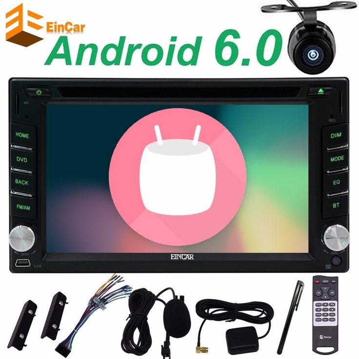 ==> [Free Shipping] Buy Best Android 6.0 car DVD Player Black Car Stereo GPS Navigation Head Unit Autoradio FM Radio Wifi External Mic and FREE Backup Camera Online with LOWEST Price | 32800292010
