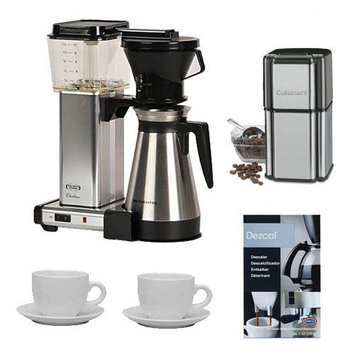 Cuisinart Coffee Maker Replacement Jug : Technivorm KBT-741 Moccamaster Coffee Brewer With Thermo Carafe w/ Cuisinart Grind Central ...