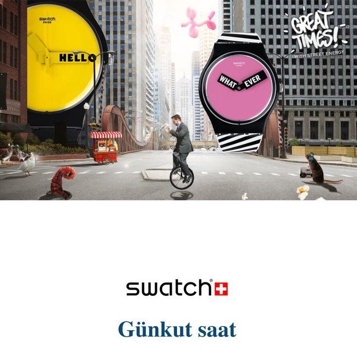 Her stile uygun Swatch modelleri ile tanışın! Ürünlerimizi incelemek için; http://bit.ly/swatch-ciao-tutti