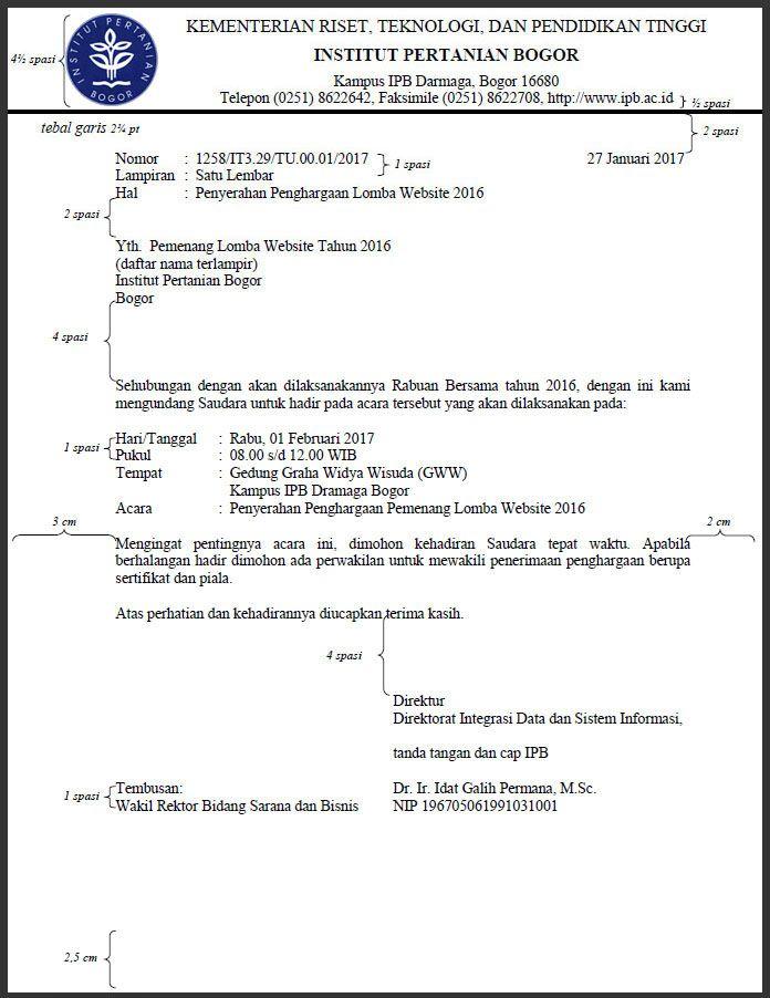 Bentuk Form Surat Dinas Yang Baru Anita S Personal Blog Surat Belajar Surat Pengantar