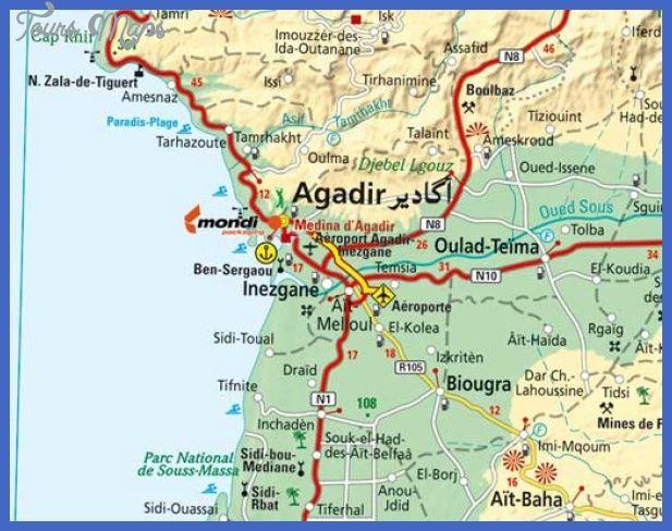 nice Morocco Metro Map