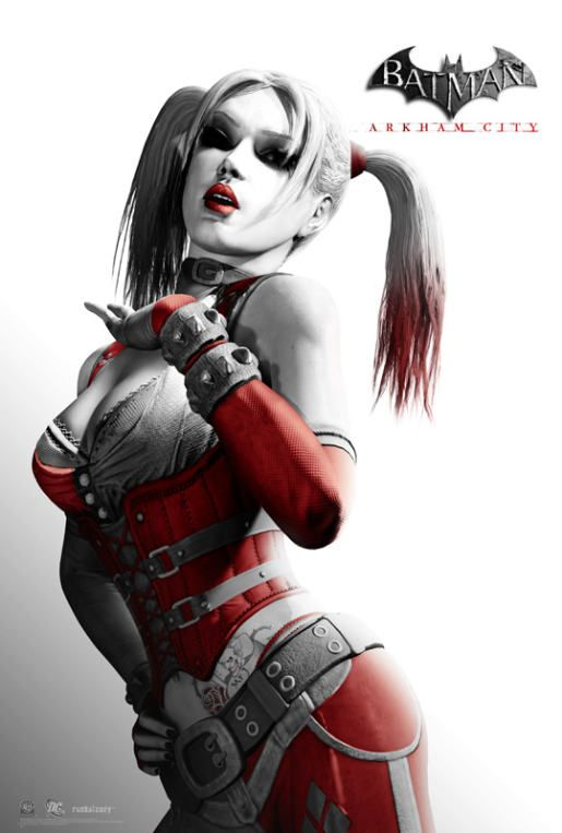 Harley Quinn in Arkham City is probably the sexiest video game character ever
