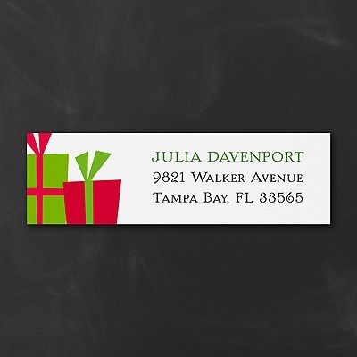 Holiday Presents -  Christmas Address Labels http://partyblock.carlsoncraft.com/Holiday/Address-Labels/3254-TWSK39642-Holiday-Presents--Address-Label.pro