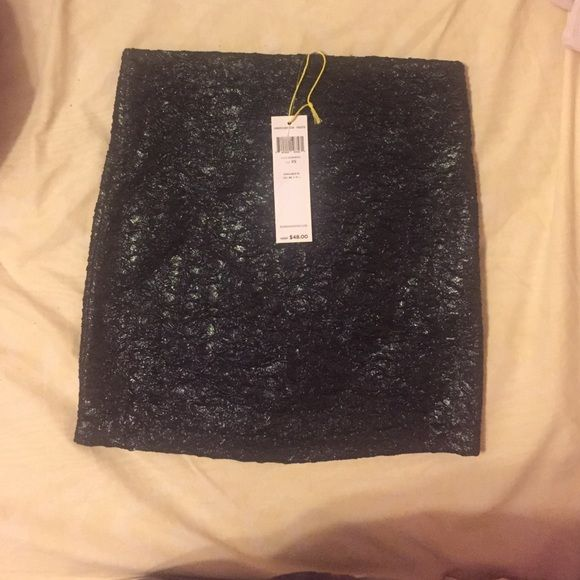 ONE DAY ONLY !!! Black BCBGENERATION Skirt New with tags. Never worn. Body con. BCBGeneration Skirts Mini