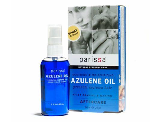 Parissa Azulene Oil ~ To help prevent ingrown hairs