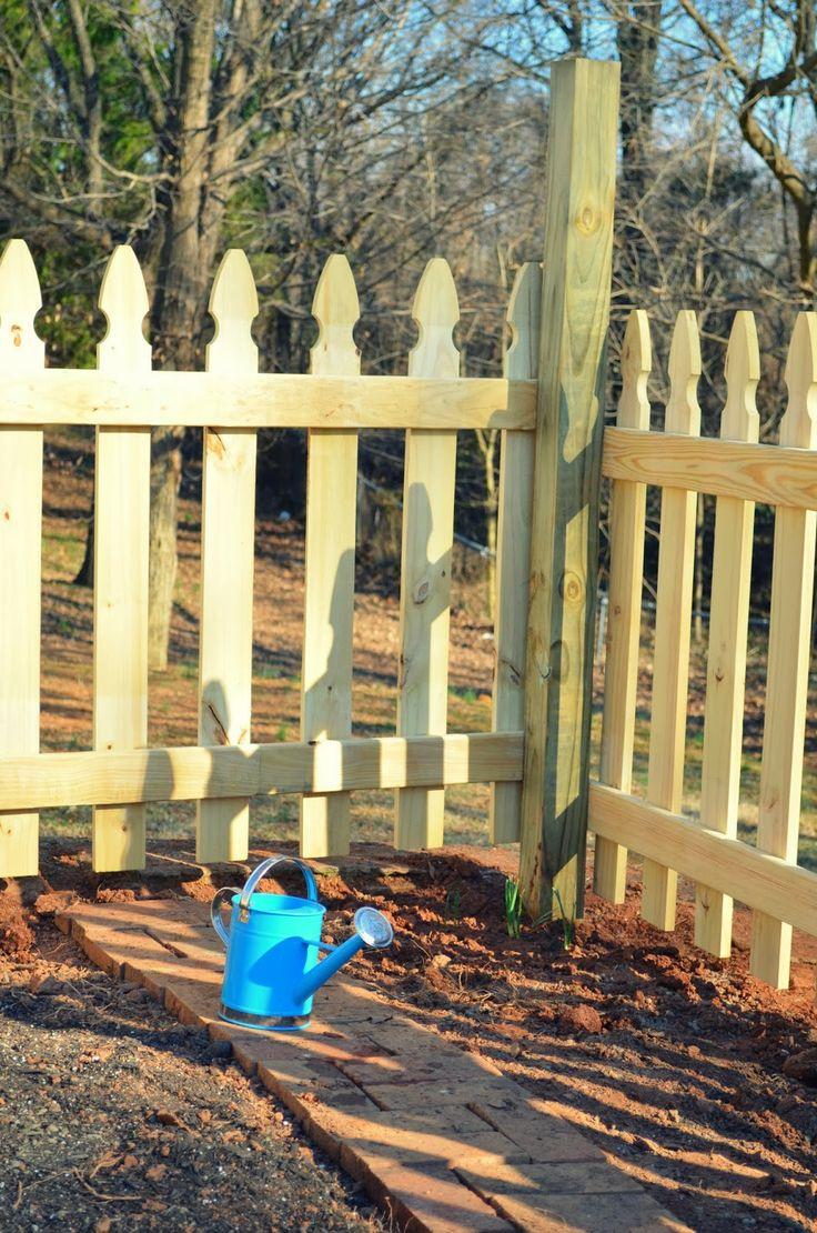 129 besten Garden fenceing Bilder auf Pinterest | Gärtnern, Zaun ...
