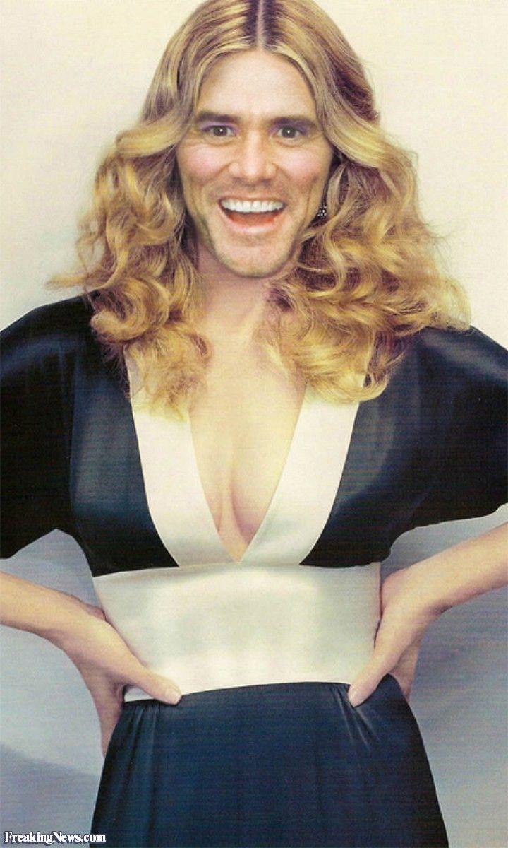 Jim Carrey as Madonna