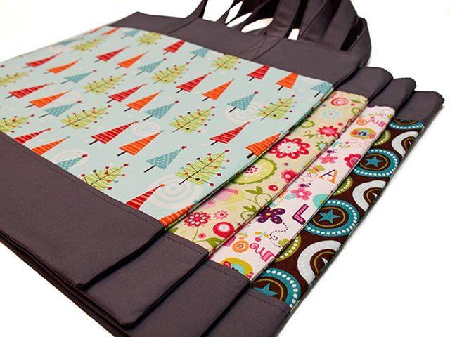 4 tolle Einkaufstaschen in unterschiedlichen Designs                                                                                                                                                                                 Mehr