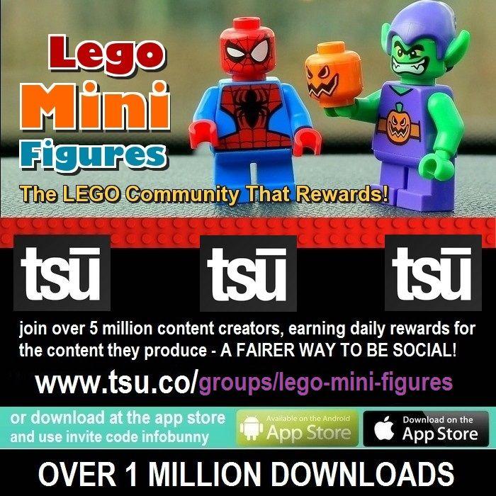 lego mini figures community - tsu social tips