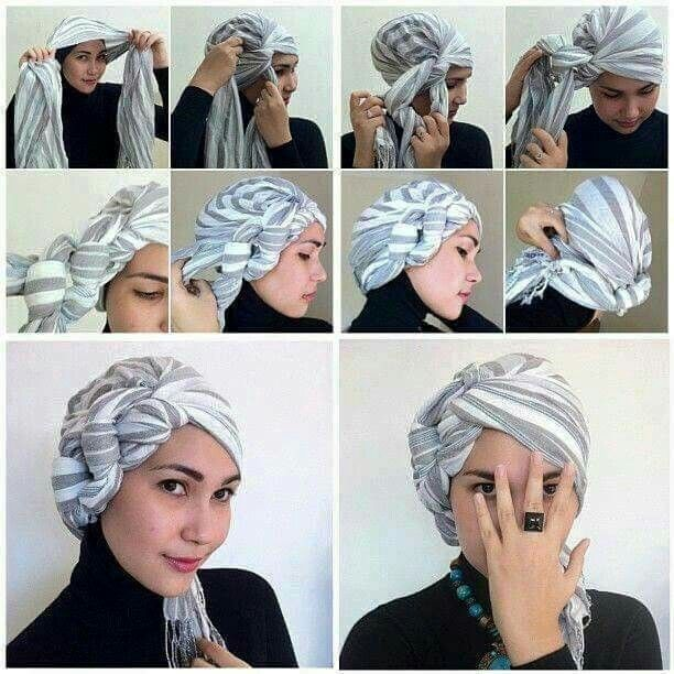 Top 10 best voile images on Pinterest | Hijab style tutorial, Hijab  NB18