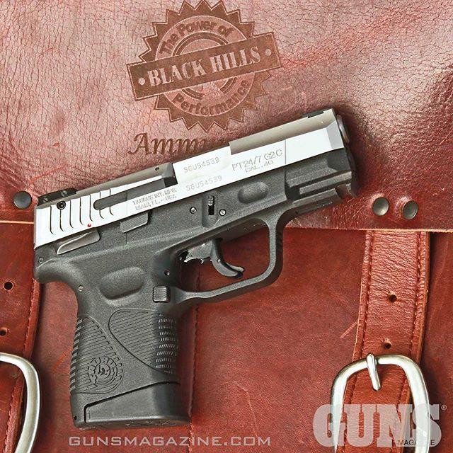 A powered up pocket pistol. The Taurus 24/7 Gen 2 Compact in .40 S&W hits hard. More from GUNS Magazine February 2017 by following our profile link. ---------- #gunsmagazine #guns #gunstagram #gunspictures #gunsofinstagram #taurus #taurususa #247 #40sw #igmilitia #2a #secondamendment #righttobeararms