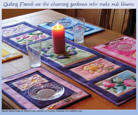 Spring Table Runners and Placemats | Table Runners ...