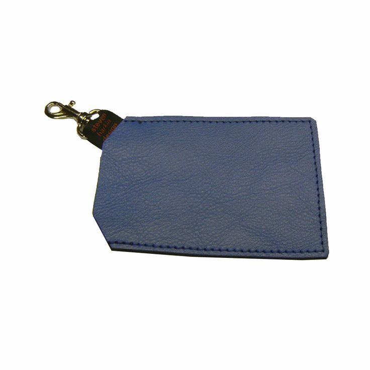 Small Card Holder in a soft Azafata Blue Leather. Made in Kent, UK  http://www.madecloser.co.uk/clothes-accessories/bags-accessories/oyster-card-holder  #gifts #ukmade