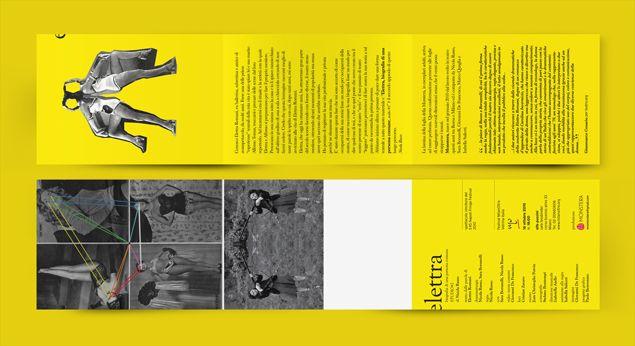 Elettra, biografia di una persona comune progetto grafico Liligutt studio