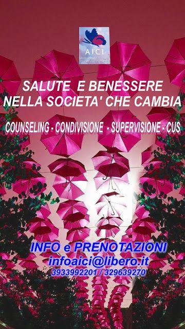 """SCUOLA COUNSELING  GRUPPI  A.I.C.I Roma Counseling : """"CONDIVISIONE E SUPERVISIONE"""" A.I.C.I.""""Attività pr..."""
