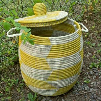 African Prayer Hamper | Find other Baskets & Trunks at The Traveler's Collection: artisan handcrafted jewelry, luxury apparel, unique accessories and home décor from around the world