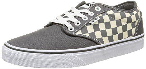 Vans Atwood, Herren Sneakers, Mehrfarbig (checkers/gray/natural), 41 EU - http://on-line-kaufen.de/vans/41-eu-vans-herren-atwood-sneaker-13