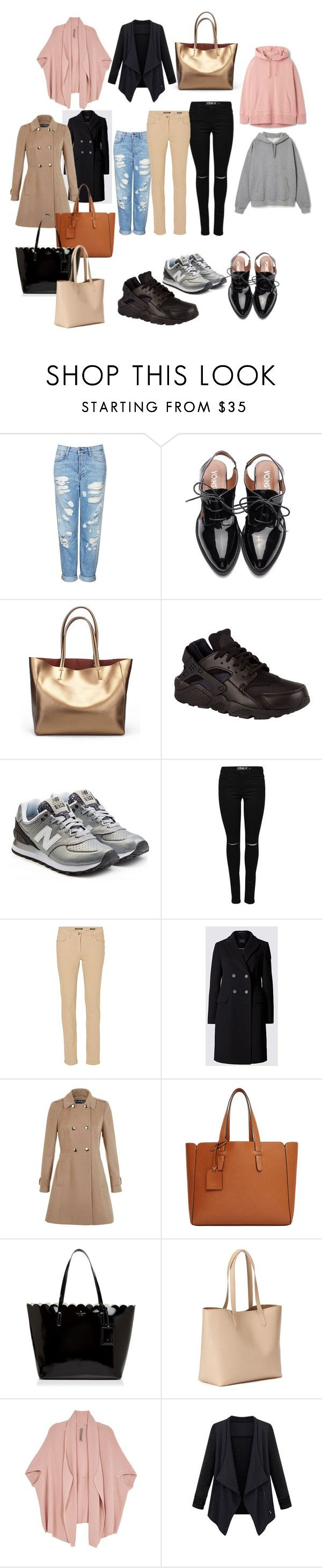 """""""Outfit"""" by marialevillega on Polyvore featuring moda, Topshop, NIKE, New Balance, Betty Barclay, Miss Selfridge, Violeta by Mango, Kate Spade, Old Navy y Melissa McCarthy Seven7"""