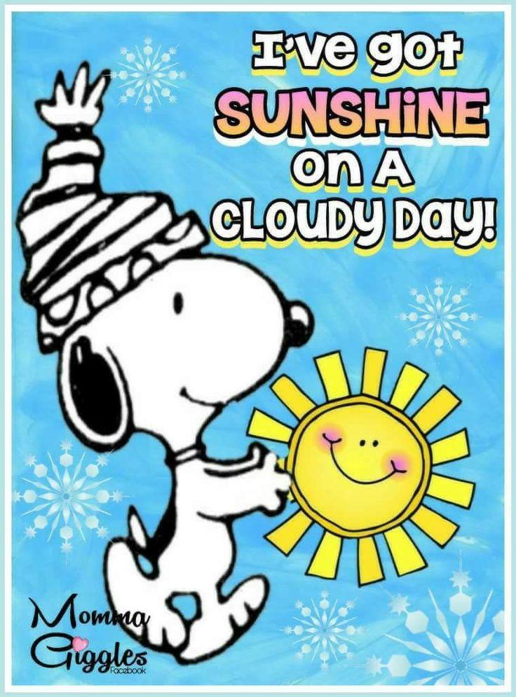Sonnenschein mit Snoopy!
