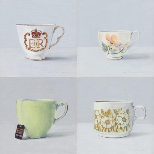 100 teacups by Joel Penkman