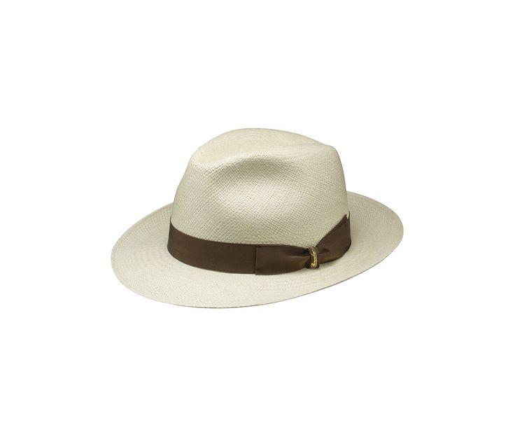 #Borsalino white hat. Shop it here: http://shop.borsalino.com/it/collezione-uomo/primaveraestate.html