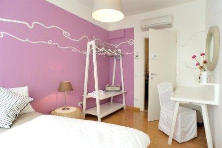 Room Venezia B&B Stop and Sleep Udine Front Station #art #design #sleeping #dream #pink #travel