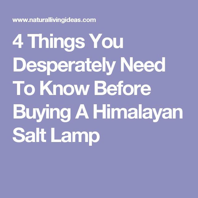 What Do You Need To Know Before Buying: 12 Best Himalayan Salt Lamps Images On Pinterest