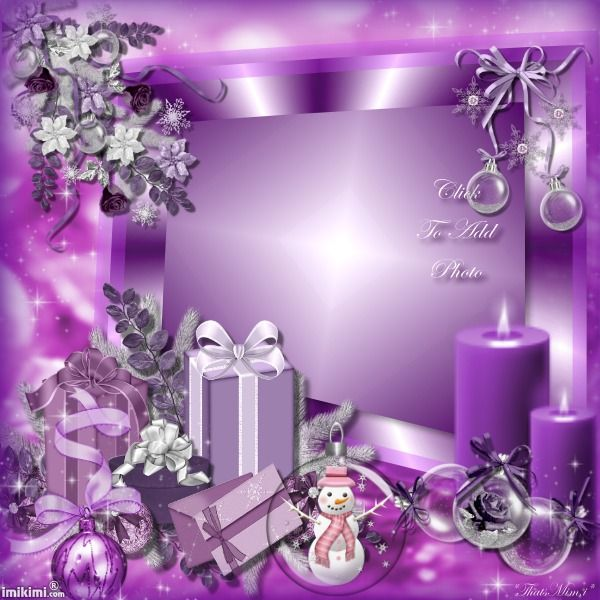 ~*~ Christmas In Purple! ~*~