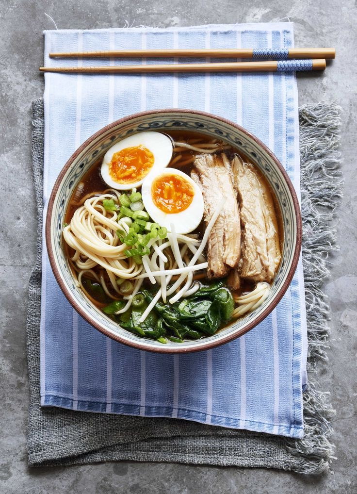 Cheat's spicy pork ramen - ramen may seem like one of those dishes you can't recreate at home, but this recipe for cheat's spicy pork ramen changes that. Rather than spending hours making stock, we buy a good flavoured one and spike it with Asian aromatics.