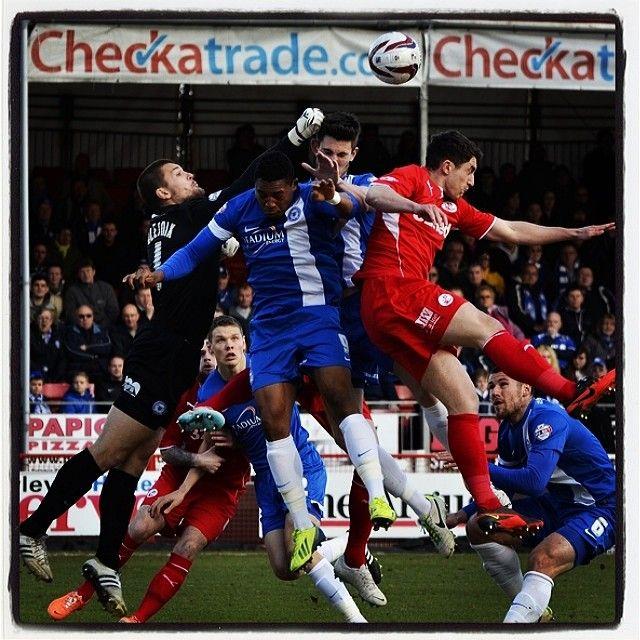Scrambles #football #soccer #peterborough #crawley #town #united #scramble #madness #skybet #league1