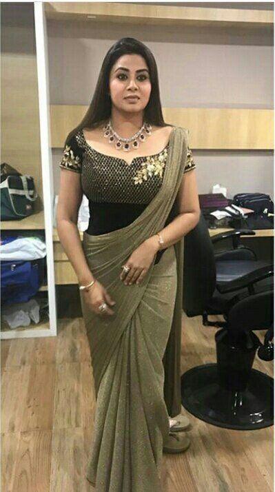 Actress Sangeetha Latest Photos In Saree  Indian Filmy -2293