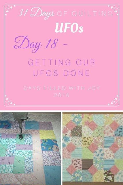 Getting Our UFOs Done