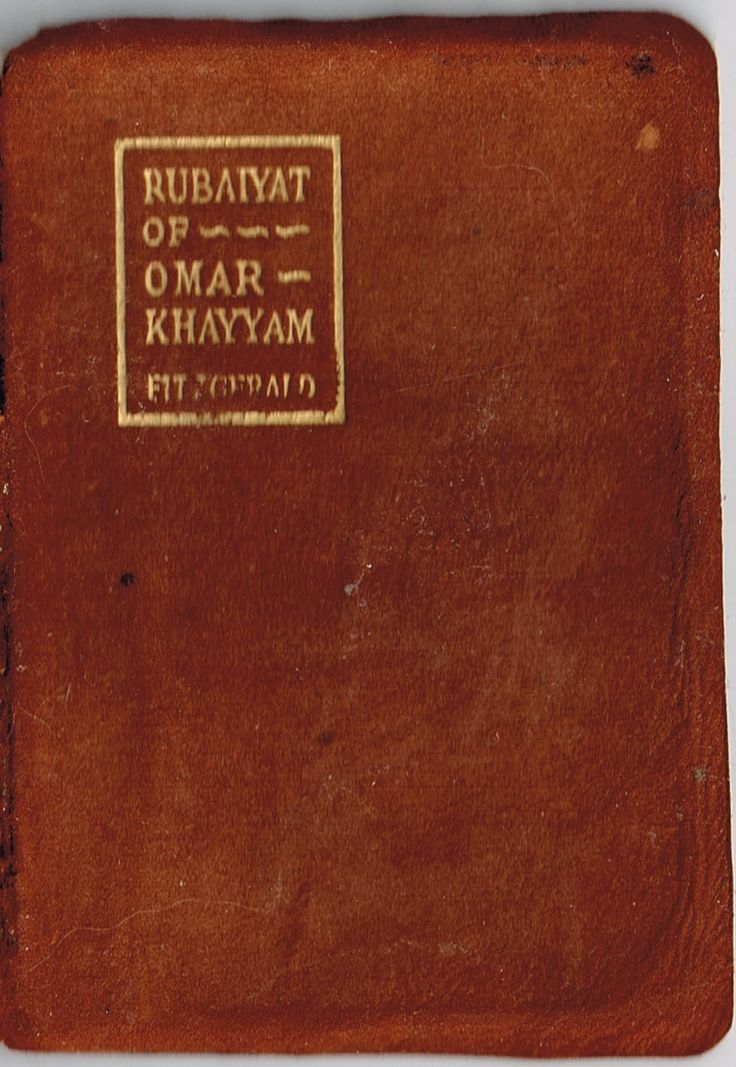 The Rubaiyat of Omar Khayyam translated by Edward FitzGerald (1868). As much FitzGerald than Omar, but a delightful poem full of memorable quatrains. Finished 9th July 2016, have read several times.