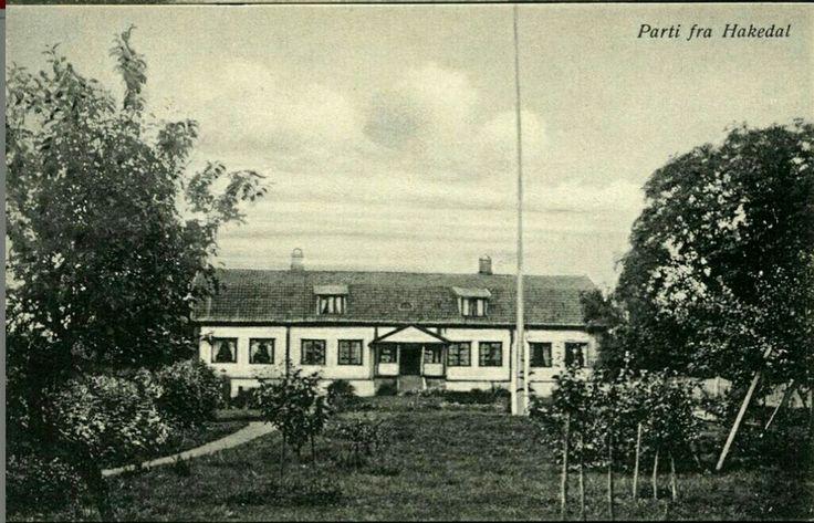 Akershus fylke Nittedal kommune Hakadal Hakedal Verk Værk Utg Haraldsens Kunstforlag tidlig 1900-tall