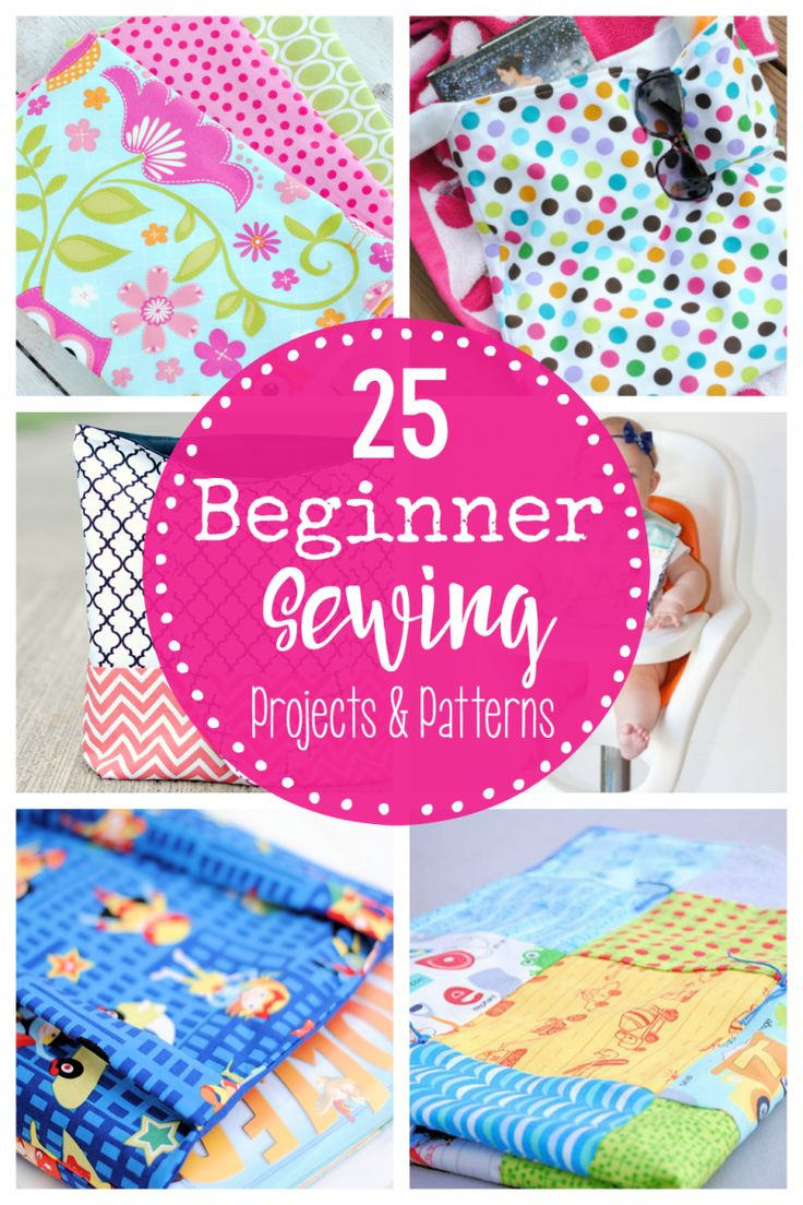 Easy Beginner Sewing Projects and Patterns-Grab these free and easy sewing proje…