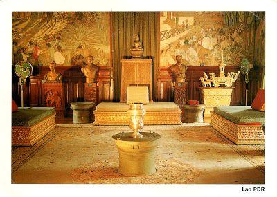 """LAOS (Louangphrabang) - Royal Palace - part of """"Town of Luang Prabang"""" (UNESCO WHS)"""