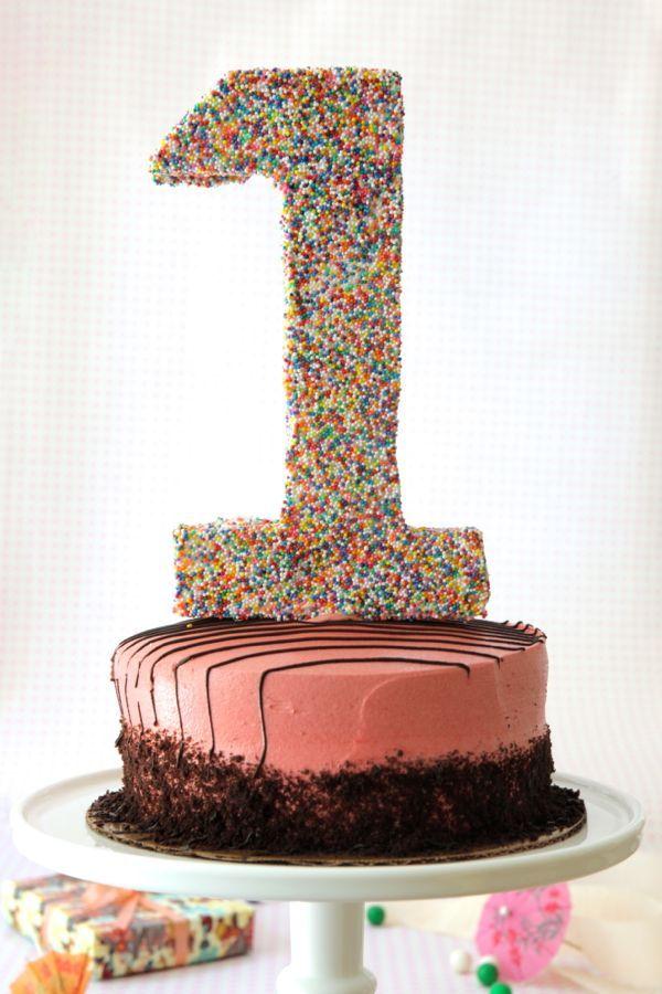 #1 Cake Topper DIY
