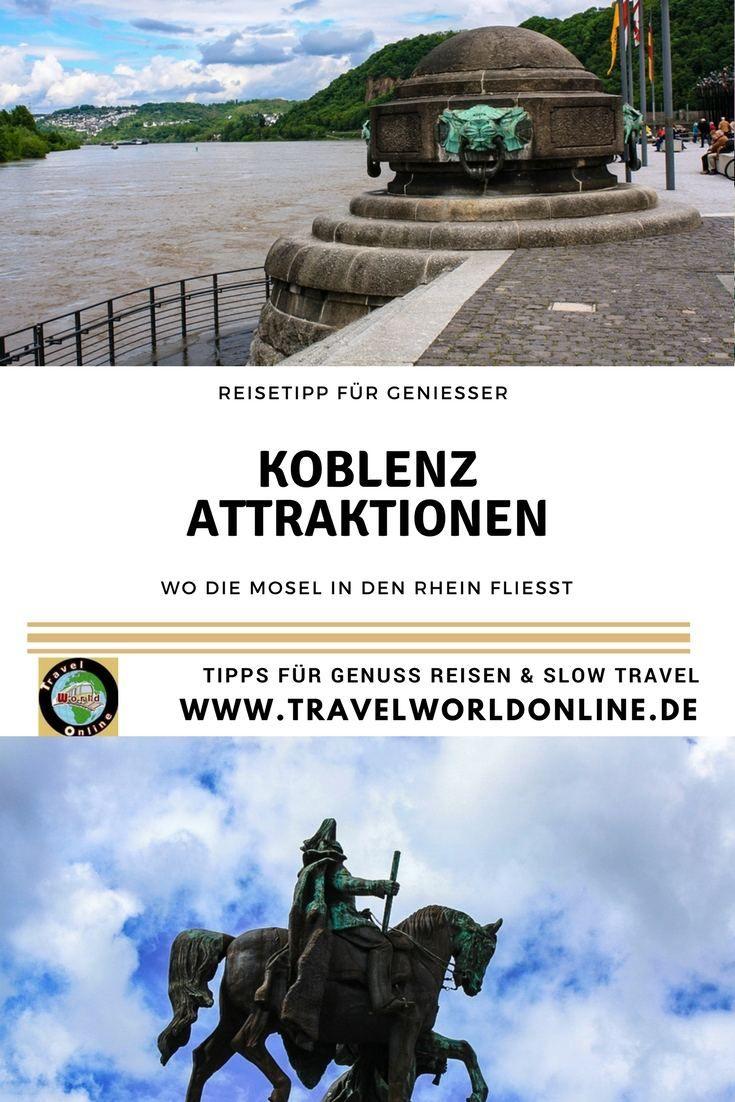 Koblenz Attraktionen am und um das Deutsche Eck, wo die Mosel in den Rhein fließt. Alles, was Du wissen musst, für einen schönen Ausflug.  #koblenz #koblenztipps #koblenzaltstadt #koblenzseilbahn #deutscheseck #deutscheseckkoblenz #koblenzattraktionen