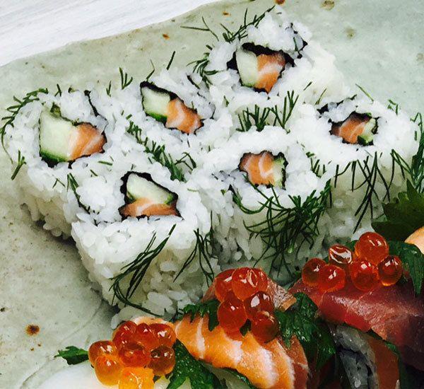 Uramaki Inside Out Sushi Roll