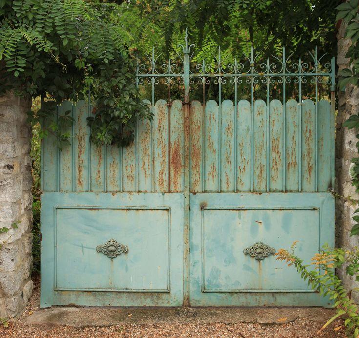 French garden gate gates Pinterest Gardens